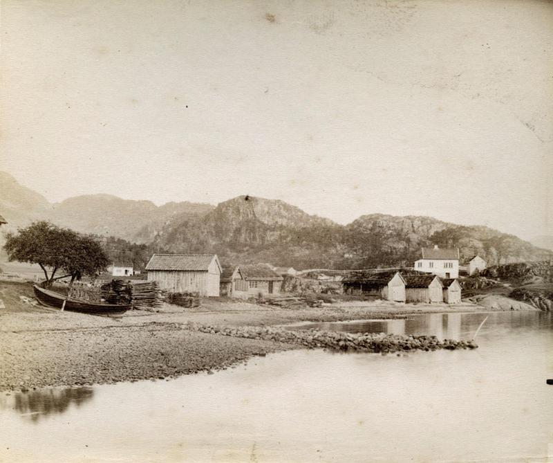 Frå Saudasjøen i 1887.