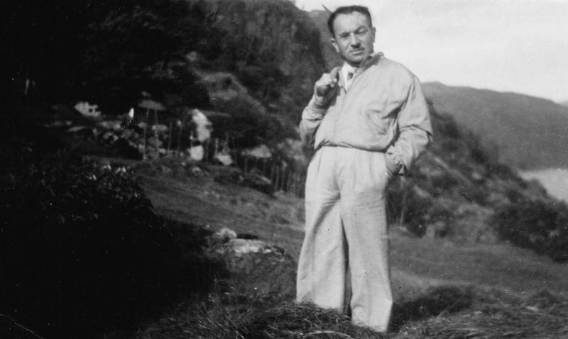Moritz Rabinowitz på Djuve, hans andre gjemmested.