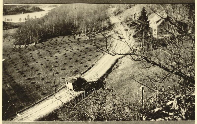 Fra den første krigsbegravelsen Egersund kirkegård, Årstad. 17 april 1940.