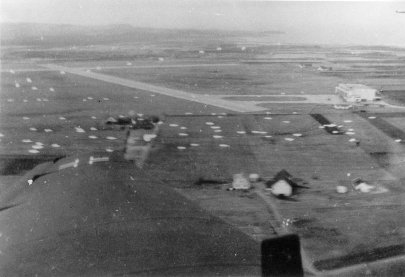 Det tyske fallskjermangrepet på Sola om morgenen 9. april 1940.