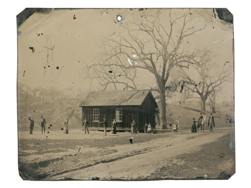 Billy the Kid spiller krokket ved Fort Sumner, New Mexico i 1878.