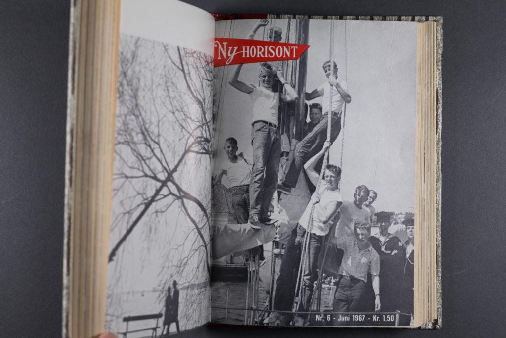 Forside av bladet, fra innbundet årgang i Misjonsarkivet.